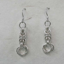 Chainmaille Earrings 01